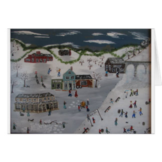 The Winter Carnival Card