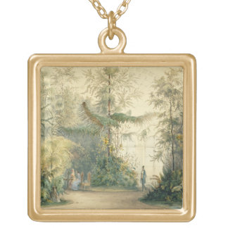 The Winter Garden of the Hofburg Palace, Vienna, 1 Gold Plated Necklace