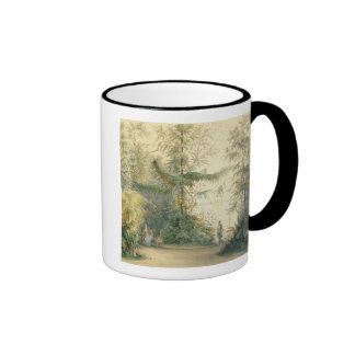 The Winter Garden of the Hofburg Palace, Vienna, 1 Ringer Coffee Mug