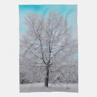 The Winter Oak Kitchen Towel