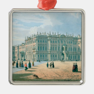 The Winter Palace as seen from Palace Passage Christmas Ornament