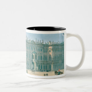 The Winter Palace as seen from Palace Passage Two-Tone Mug