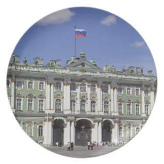 The Winter Palace, St Petersburg, Russia (RF) Plate