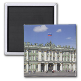 The Winter Palace, St Petersburg, Russia (RF) Square Magnet