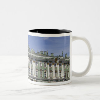 The Winter Palace, St Petersburg, Russia (RF) Two-Tone Mug