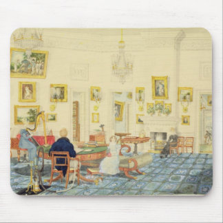 The Winter Room in the Artist's House at Patna, In Mouse Pad