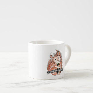The Winter: Squirrel's Holiday Illustration Espresso Cup