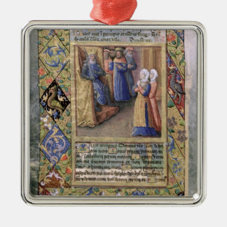 The Wisdom of Solomon Christmas Ornament