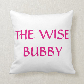 THE WISE BUBBY PASSOVER PESACH PILLOW THROW CUSHION