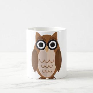 The Wise Owl (2) Basic White Mug