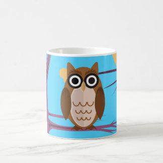 The Wise Owl Basic White Mug