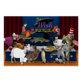 The Wish Fish Family Gang Poster