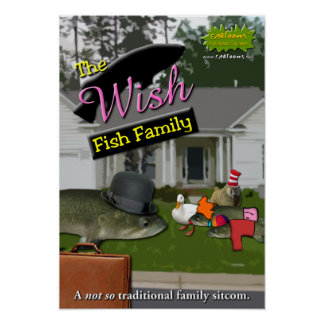 The Wish Fish Family Poster