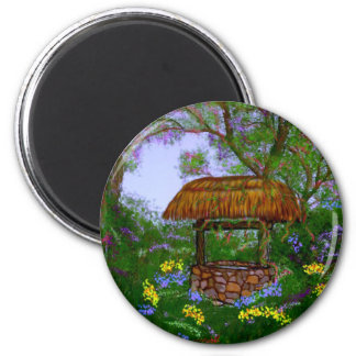 The Wishing Well Magnet