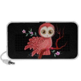 The Wistful Owl Doodle Speaker