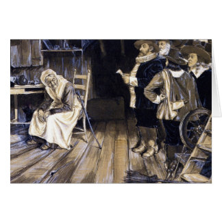 The Witch Hunt Greeting Card