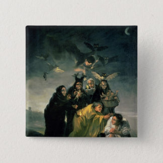 The Witches' Sabbath 15 Cm Square Badge