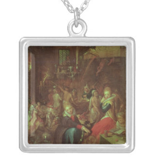 The Witches' Sabbath, 1606 Silver Plated Necklace