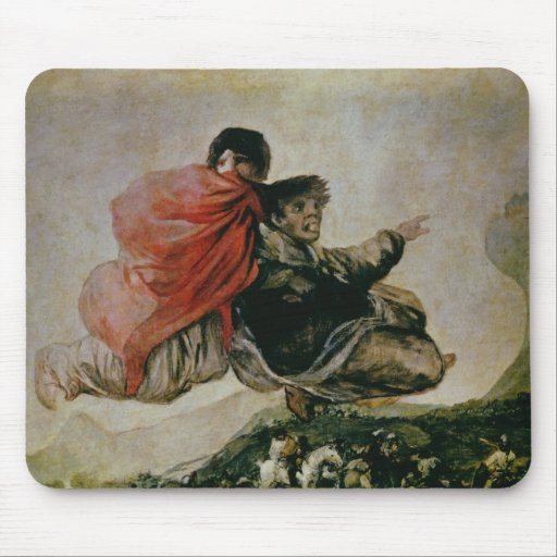 The Witches' Sabbath, c.1819-23 Mousepads