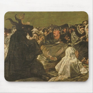 The Witches' Sabbath or The Great He-goat Mouse Mat