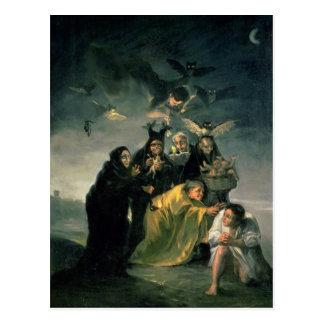 The Witches' Sabbath Postcard