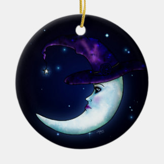 The Witching Moon Christmas Ornament