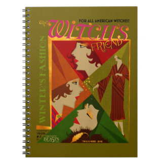 The Witch's Friend November Magazine Spiral Notebook
