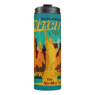 The Witch's Friend September Magazine Thermal Tumbler
