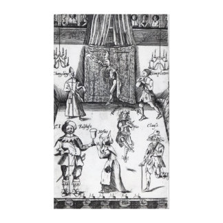 The Wits, or, Sport upon Sport, 1662 Gallery Wrap Canvas