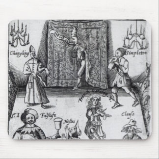 The Wits, or, Sport upon Sport, 1662 Mouse Mat