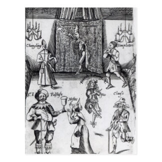 The Wits, or, Sport upon Sport, 1662 Postcard