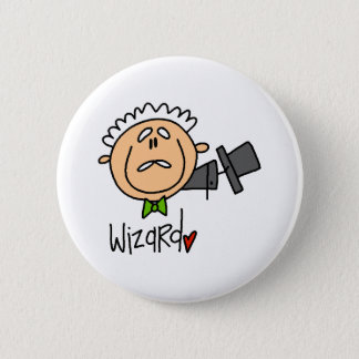 The Wizard 6 Cm Round Badge