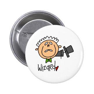The Wizard 6 Cm Round Badge