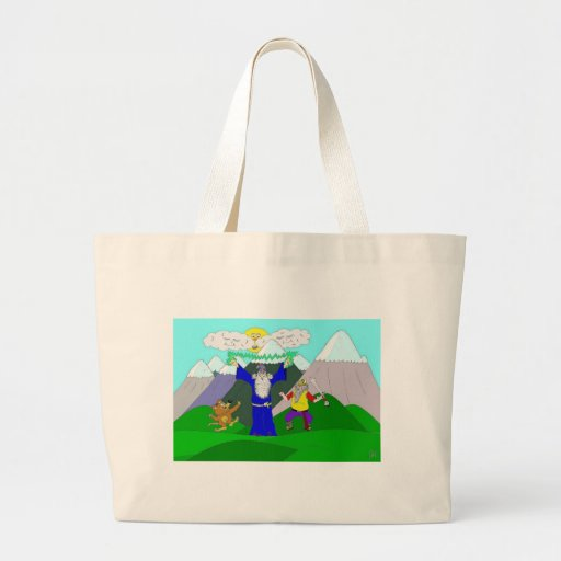 The Wizard appears Bag