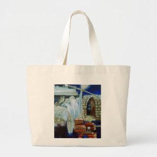 The Wizard Empowered  CricketDiane Art & Design Jumbo Tote Bag