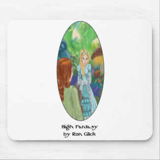 The Wizard In Wonderland (Alice) Mousepad Art