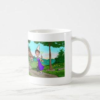 The Wizard Lady Basic White Mug