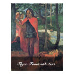 The Wizard Of Hiva-Oa By Gauguin Paul Personalized Flyer