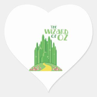 The Wizard of Oz Heart Sticker