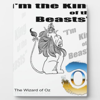 The Wizard of Oz - illustration Plaque