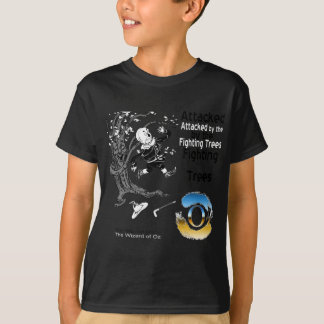 The wizard of oz - illustration T-shirt