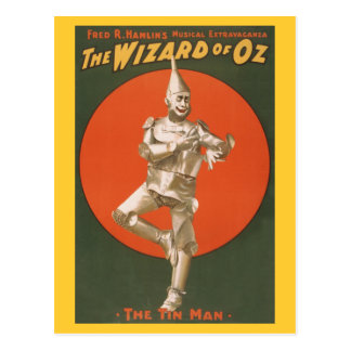 The Wizard of Oz Musical - The Tin Man Postcard