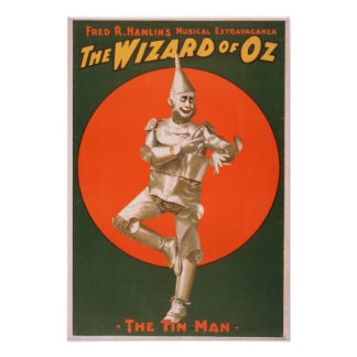 """The wizard of Oz"" Musical Theatre Poster #2"