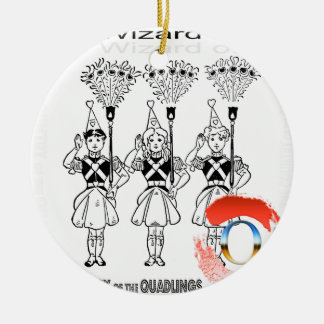 The Wizard of Oz Round Ceramic Decoration