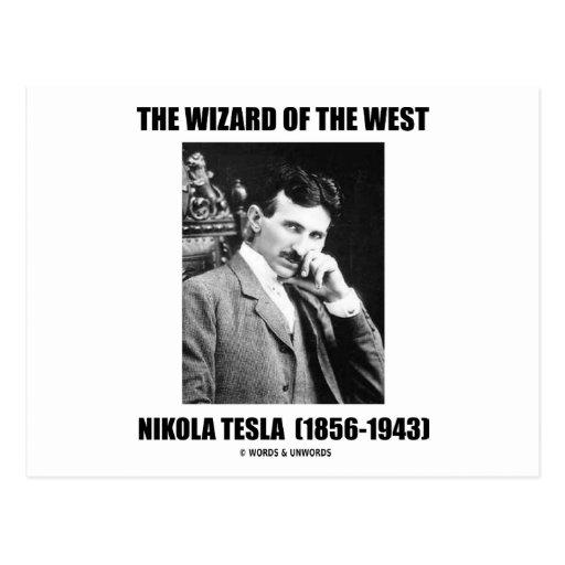The Wizard Of The West (Nikola Tesla) Postcards