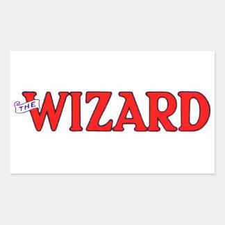 The Wizard Rectangular Sticker