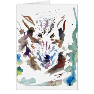 ''The wolf'' Card