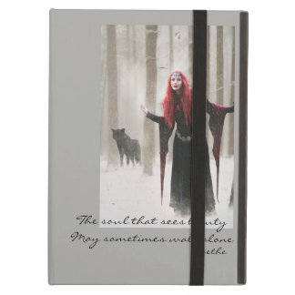 The wolf cover for iPad air