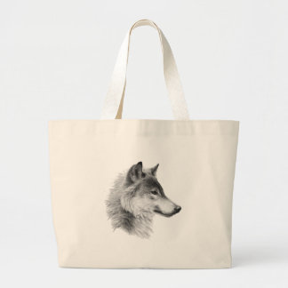 THE WOLF LEADER LARGE TOTE BAG