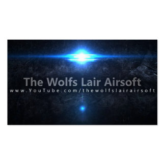 The Wolf s Lair Airsoft Business Cards